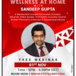Wellness At Home With Sandeep Gupta